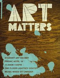 ART MATTERS POSTER SPRING 2010