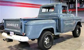 Pick Of The Day: 1955 Chevrolet Pickup - ClassicCars.com Journal 1955 Chevrolet Stepside Project Pickup California Import Uk Quick 5559 Task Force Truck Id Guide 11 Truck Resto Modded Pickups Panel Custom For Sale Gmc Luniverselle Car Design News Nice Awesome Other Ls Chevy Side 55 59 Pick Up Used In Dave_7 Flickr Pickup Hrodhotline 3200 Halfton On Bat Auctions The 471955 Driven