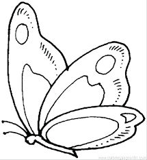 Caterpillar Coloring Page Butterflies Pages Butterfly 9