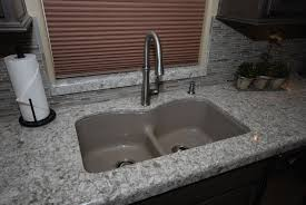 Kohler Riverby Sink Undermount by Kohler Langlade In Cashmere With Bellera In Vibrant Stainless In