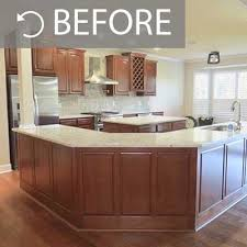 Kitchen Color Ideas With Cherry Cabinets Kitchen Painting Projects Before And After Paper Moon Painting