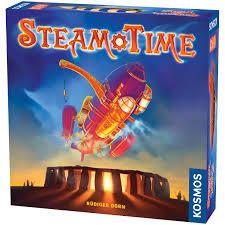 Amazon.com: Thames & Kosmos Steam Time Board Game: Toys & Games