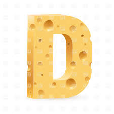 Cheese Font Letter D Vector Image Of Signs Symbols Maps © Dvarg