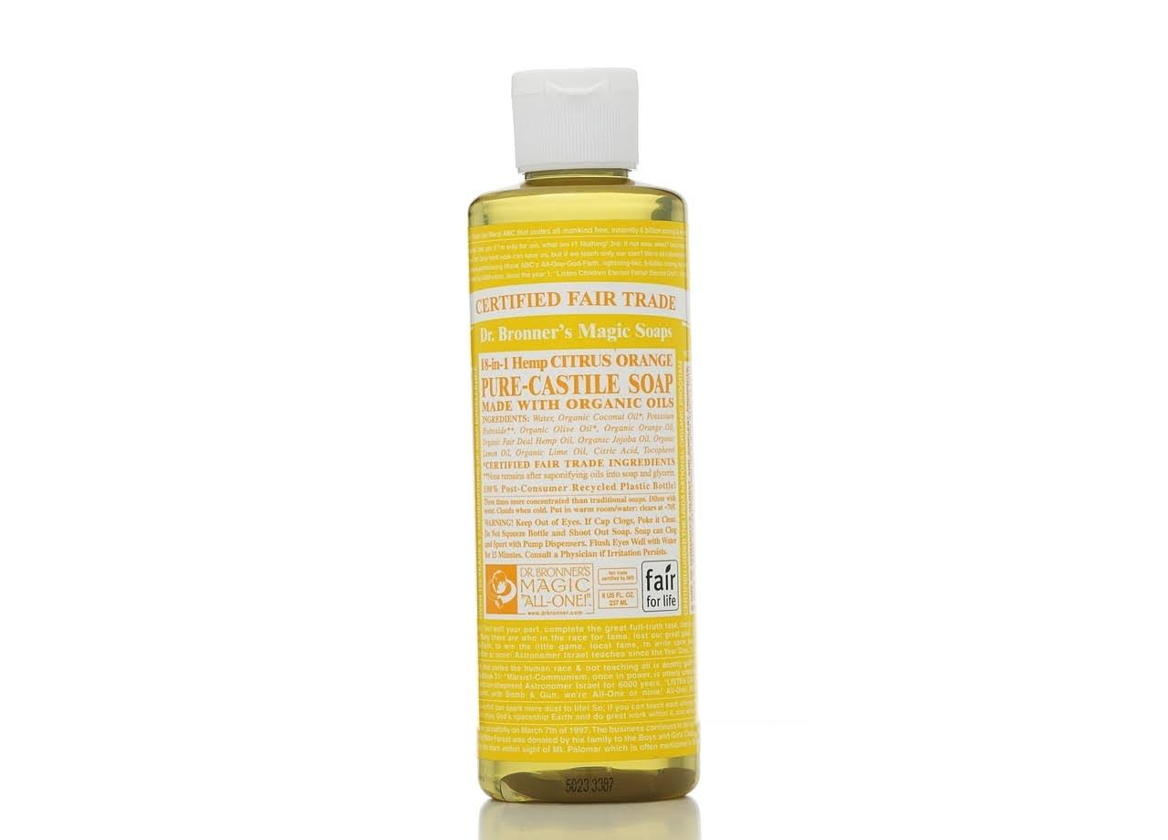 Dr. Bronner's Organic Castile Liquid Soap - Citrus Orange