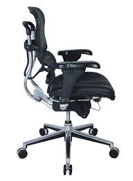 Office Star Chairs Amazon by Amazon Com Eurotech Mid Back Black Mesh Office Chair Ergohuman