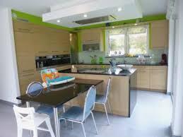 cuisine meuble bois meilleur 47 design couleur mur cuisine avec meuble bois beau