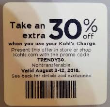 Kohls 30% OFF Coupon Code In Store And... - Kohls 30 Off ... 27 Of The Best Secrets To Shopping At Kohls Saving Money Monday Morning Qb How I Did Selling Personal Appliances 30 Off Coupon Code In Store And Off 40 5 Ways Snag One Lushdollarcom Friendlys Printable Coupons 2017 Printall Emails Sign Up Jamba Juice Coupon 2018 May With Charge Card Plus Free Bm Reusable Code Instore Only Works Off March 10 Chase 125 Dollars Promo Archives Turtlebird Holiday Black Friday Ads Deals Sales Couponshy Coupons August 2019 Discounts Promo Codes Savings