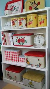 1950s Bread Boxes Canisters And Tins
