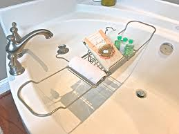 Teak Bath Caddy Au by Bathroom Charming Bathtub Trays Inspirations Wooden Bathtub