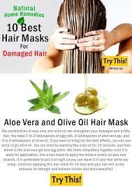 Aloe Vera and Olive Oil Hair Mask Beauty Pinterest