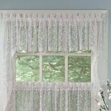 Priscilla Curtains With Attached Valance by Ruffled Priscilla Curtains Wayfair