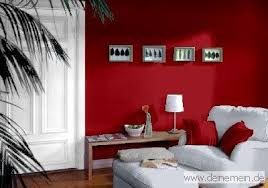 farbkombinationen in rot und rottönen trendtapeten in rot