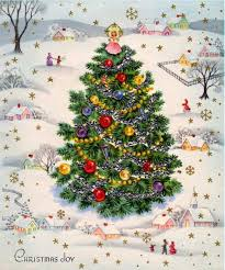 Essentials Vintage Christmas Tree And Pin By Ariella Mostly Paper Dolls On
