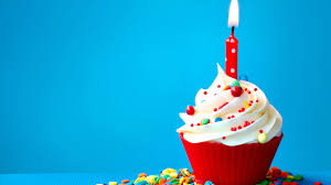 happy birthday cupcake candle HD wallpapers