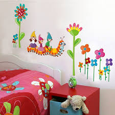 Kids Room Wall Pictures For Bedrooms Decor Pvc Waterproof Removable Stickers
