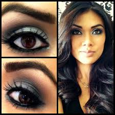 Images For Eye Makeup For Dark Brown Eyes And Fair Skin MakeUp