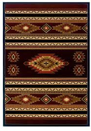 Soaring Diamond Terracotta Area Rug