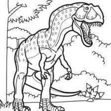 Dinosaur Coloring Pages Kids AZ