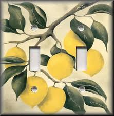 Image Is Loading Metal Light Switch Plate Cover Lemon Tree Branches