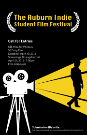 Auburn University New Media Club Is Hosting Its 4th Annual Indie Student Film Festival Held In Langdon Hall On Universitys Campus