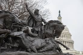 Restored Bronze Of The Grant Memorial