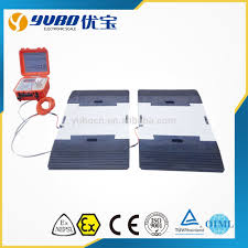 100 Truck Weight Scales Wheel Weigher Weigh Pads Printer Scale Axle Scale Vehicle Car