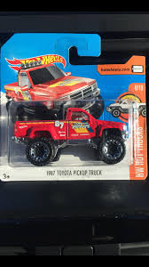 100 1987 Toyota Truck Pickup HotWheels