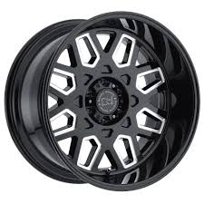 Truck Rims By Black Rhino With 20 Inch Black Rims With Red Lip And ...
