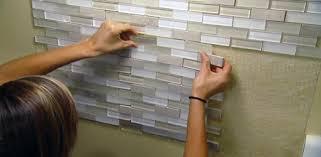 installing a tile backsplash using a self adhesive mat today s