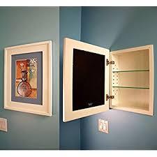 Amazon 14x24 White Concealed Medicine Cabinet Extra