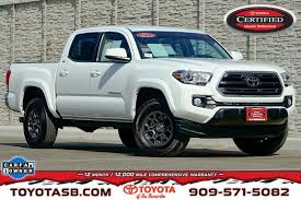 100 Certified Pre Owned Trucks Used OneOwner 2018 Toyota Tacoma 4X2 Double CAB In San