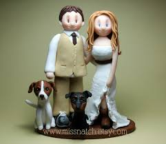 Outdoor Wedding Cake Toppers Photo