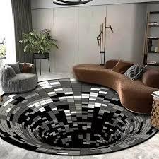 3d optisch effekt bodenloses loch teppich boden teppiche