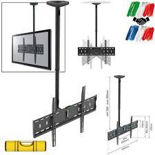 achat support tv plafond pour écran 81cm à 177cm