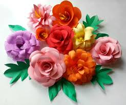 Diy Paper Flowers Folding Tricks