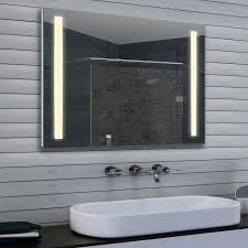 led beleuchtung neutral weiß licht wand badezimmer spiegel 100 x 70cm mfu10070