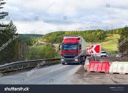 100 Big Truck Repair Red On Road Carrying Stock Photo Edit Now 1238892526