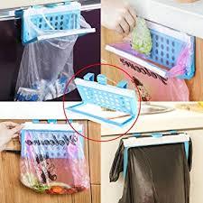 support sac poubelle cuisine la cabina porte sacs poubelle pliable à suspendre pour placard de