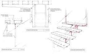 Steel Stair Details Detail Custom Sheet By Autocad