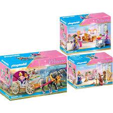 playmobil 70449 52 55 princess 3er set romantische