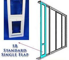 The SB Standard Patio Pet Door Insert is our best selling Pet Door