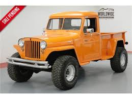 1948 Jeep Willys For Sale | ClassicCars.com | CC-1105680 Stinky Ass Acres Willys Rat Rod Offroaderscom 1952 Willys Jeep Truck Youtube 1958 Pickup 1948 Truck Classic Trucks All Makes And Models Pinterest Jeep Amazoncom Frolics Cj5 Wagoneer Jeepster Gladiator Interior 1955 4wd Paint Historical Hlight The Print Ad The Heritage 1950 Blog Dump Ewillys Swapping A Wagon Onto Wrangler Yj Chassis