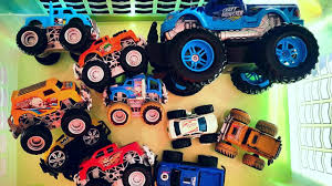 Monster Trucks For Children Review And Play Toys Video For Kids ...