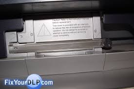 Sony Xl 2200 Replacement Lamp by How To Replace Sony Xl 2200 Lamp Enclosure For Your Projection Tv
