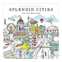 1599 Splendid Cities Coloring Book By HACHETTE BOOK GROUP 997