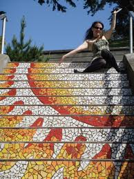 16th avenue tiled steps diary of a smart chick