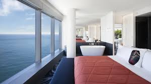 100 W Hotel In Barcelona Spain Black Platinum Gold