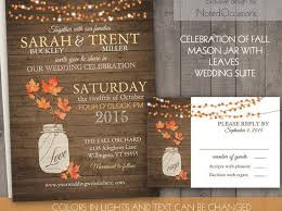 210 X 140 Previous Image Next Wallpaper Fall Rustic Wedding Invitations