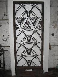 deco fer forge ferronnerie motifs garde corps arts deco recherche doors