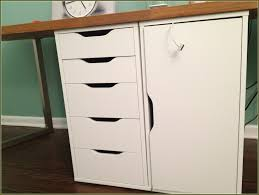 Locking File Cabinet Ikea by Filing Cabinet Modern Desk With File Cabinet Desk With File